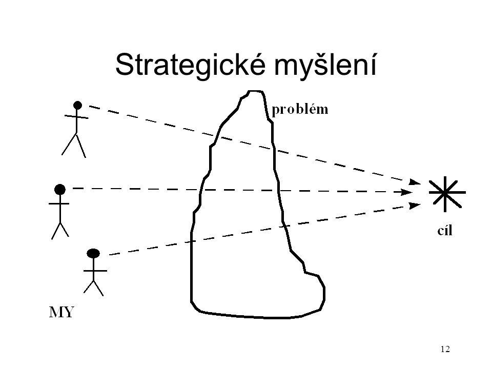 13 Principy strategického myšlení