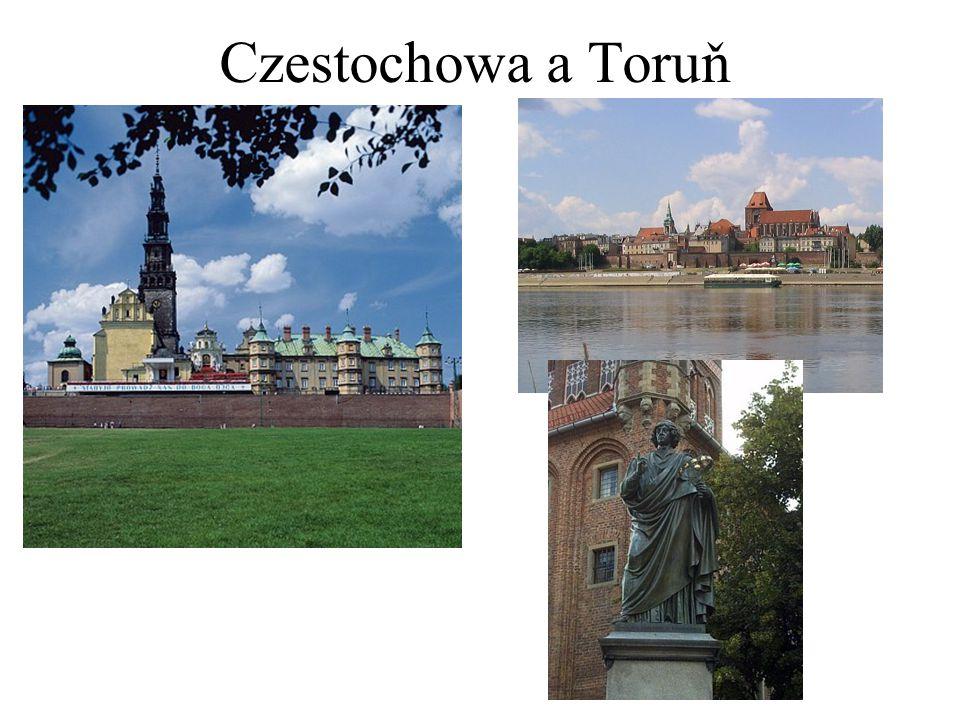 Czestochowa a Toruň
