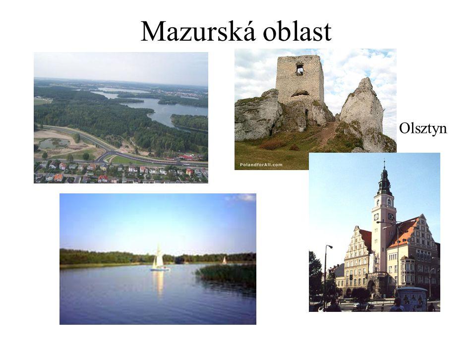 Mazurská oblast Olsztyn