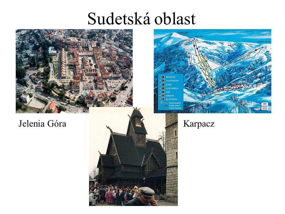 Sudetská oblast Jelenia GóraKarpacz