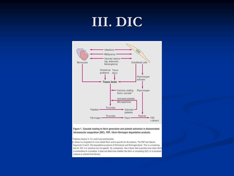 III. DIC