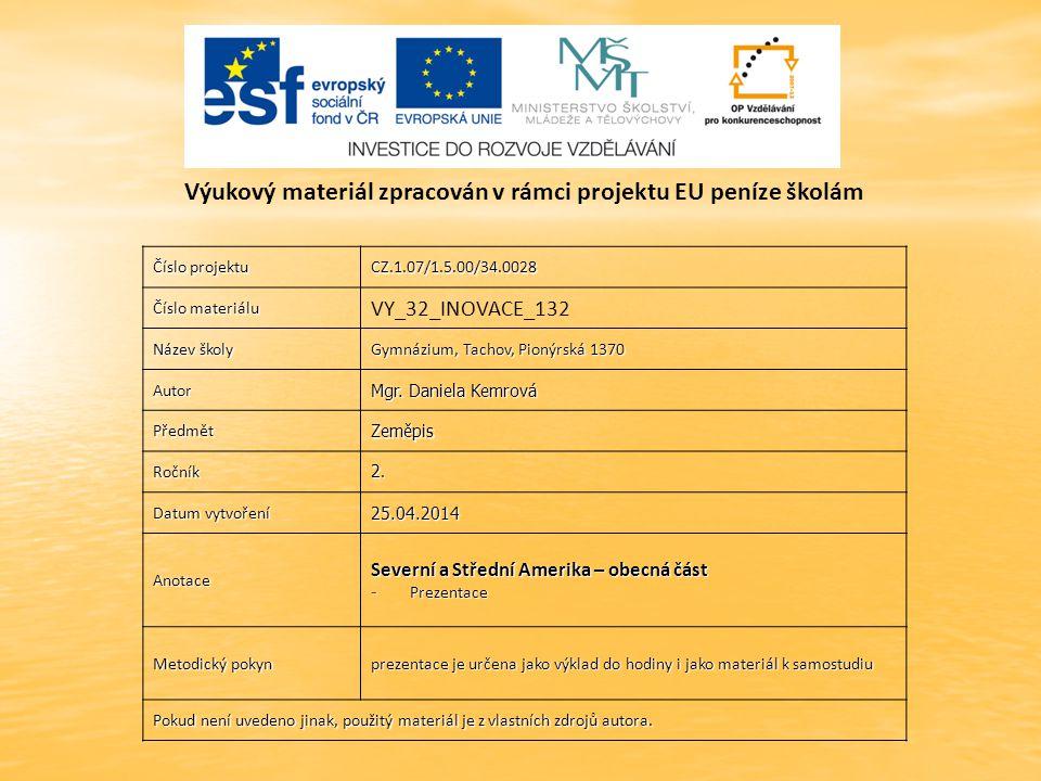 Číslo projektu CZ.1.07/1.5.00/34.0028 Číslo materiálu VY_32_INOVACE_132 Název školy Gymnázium, Tachov, Pionýrská 1370 Autor Mgr.