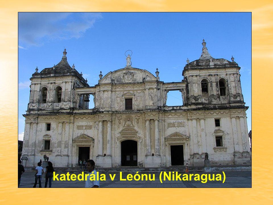 katedrála v Leónu (Nikaragua)