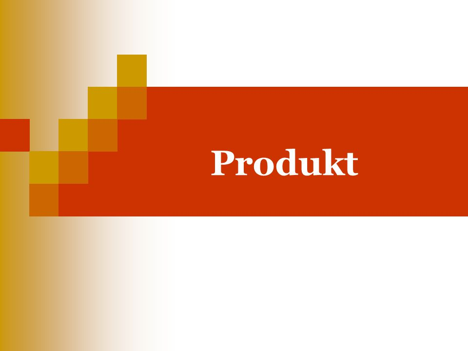 Charakter produktu a jeho realizace Marketing z pohledu produktového mixu můžeme chápat jako nástroj realizace výměny toho, co máme a co je hodnotné za něco, co potřebujeme.