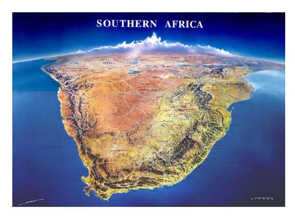 II.Socioekonomické podmínky Kromě JAR jde o státy rozvojové (chudé).