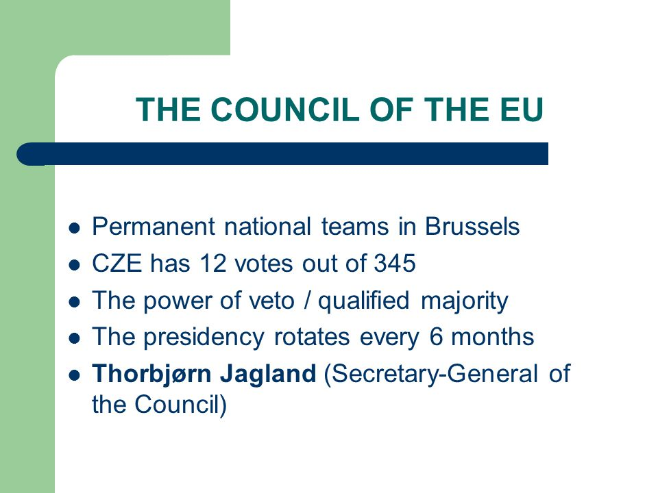 The roles of the Council to pass European laws to coordinate economic policies in member states to conclude international agreements between the EU and other countries and institutions