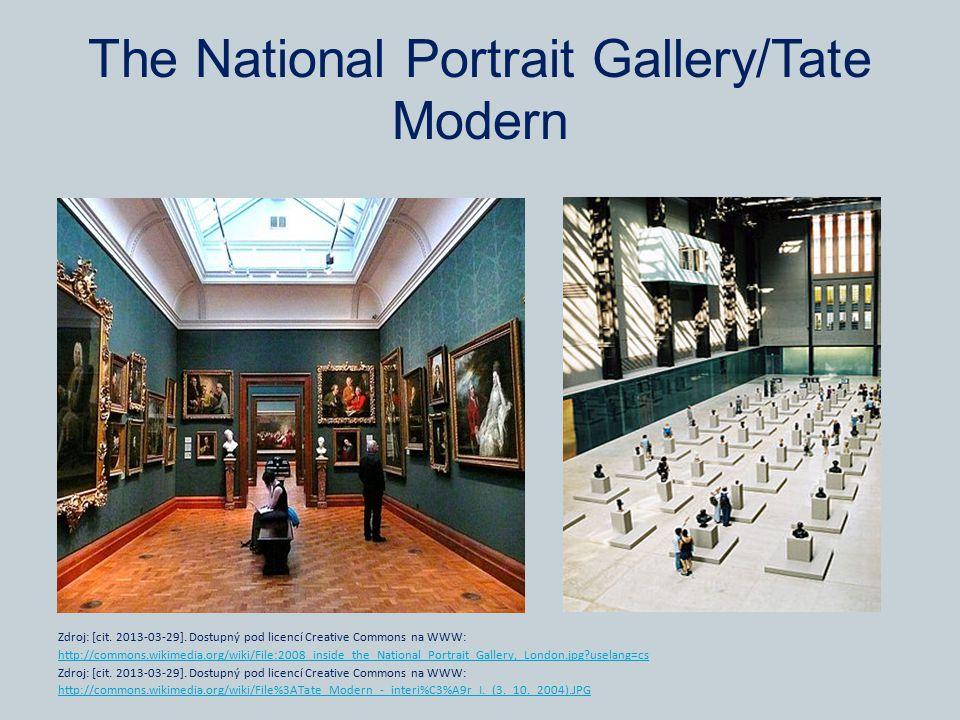 The National Portrait Gallery/Tate Modern Zdroj: [cit. 2013-03-29]. Dostupný pod licencí Creative Commons na WWW: http://commons.wikimedia.org/wiki/Fi
