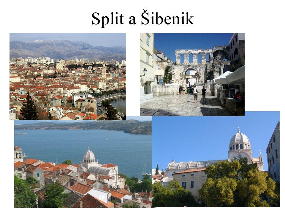 Split a Šibenik
