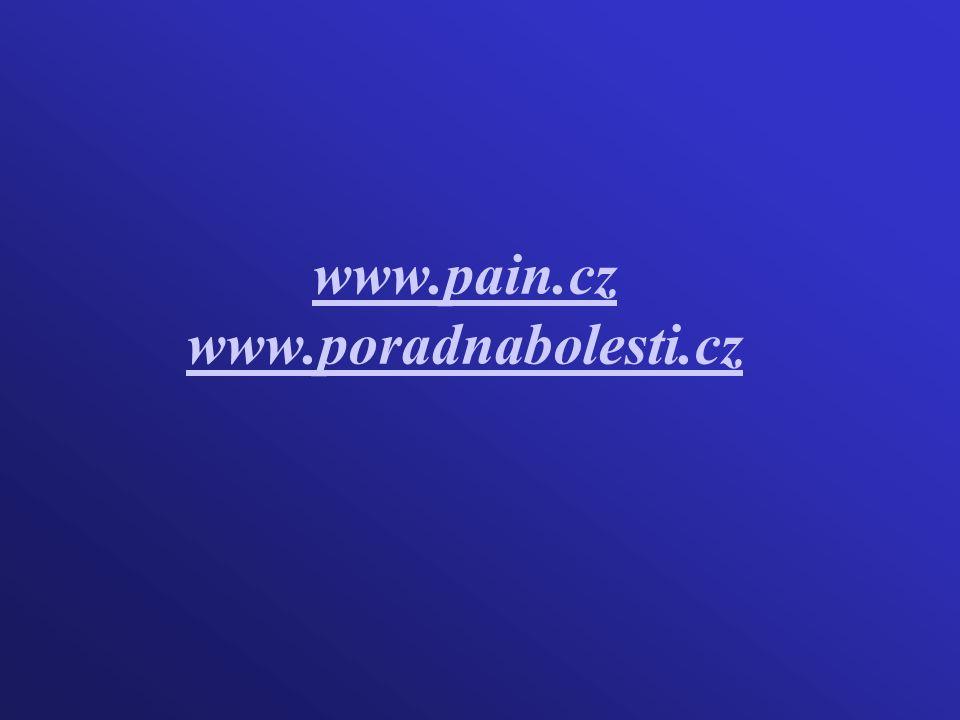 www.pain.cz www.poradnabolesti.cz