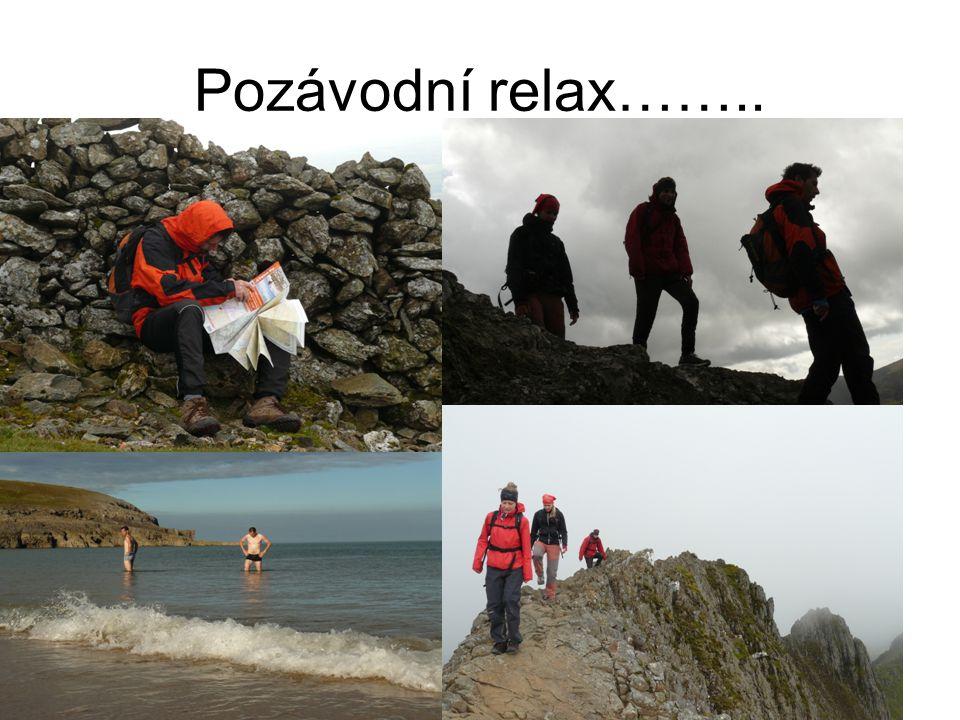 Pozávodní relax……..