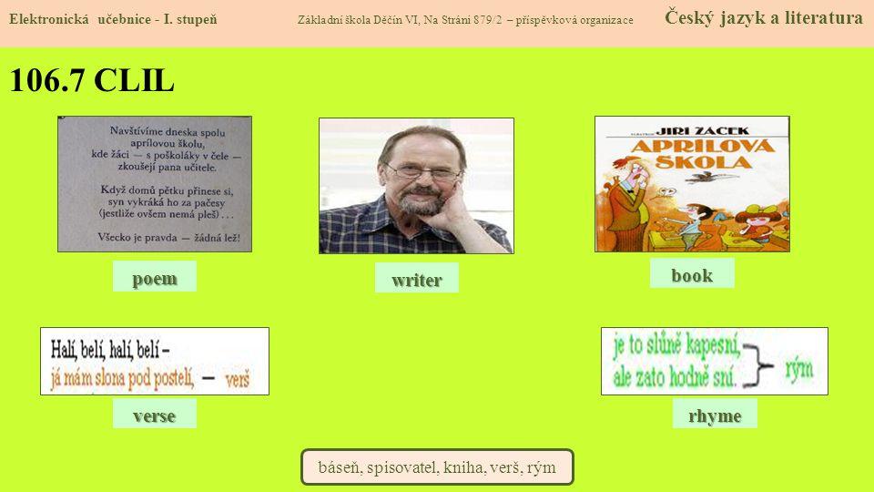 106.8 Test znalostí Elektronická učebnice - I.