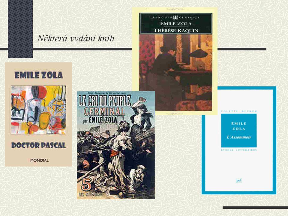 Některá vydání knih