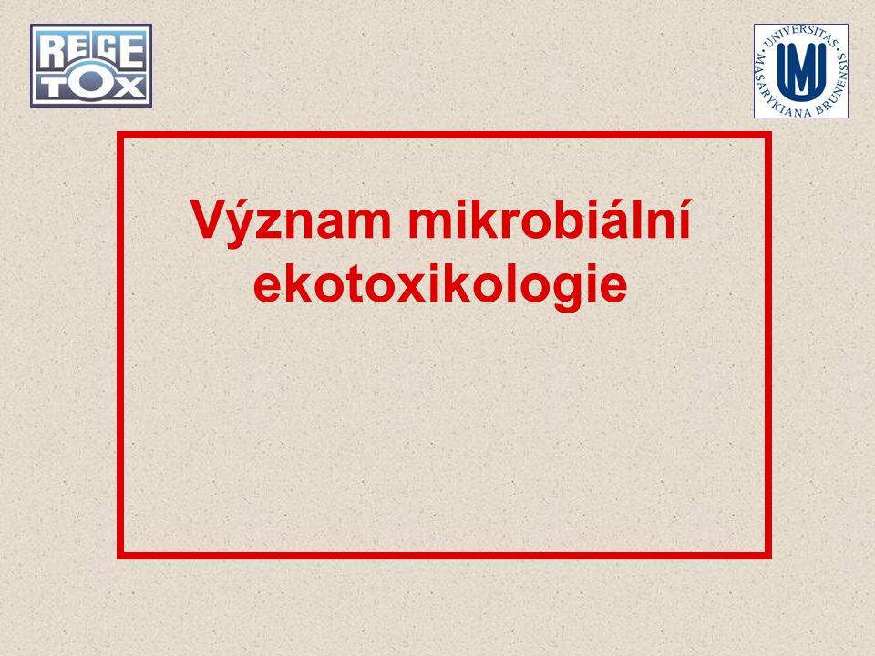 Význam mikrobiální ekotoxikologie