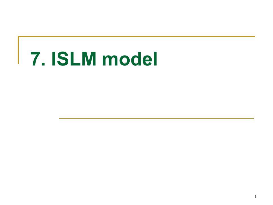 1 7. ISLM model