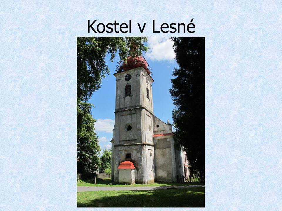 Kostel v Lesné