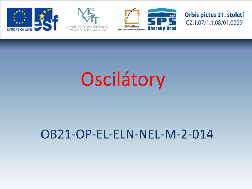 Oscilátory OB21-OP-EL-ELN-NEL-M-2-014