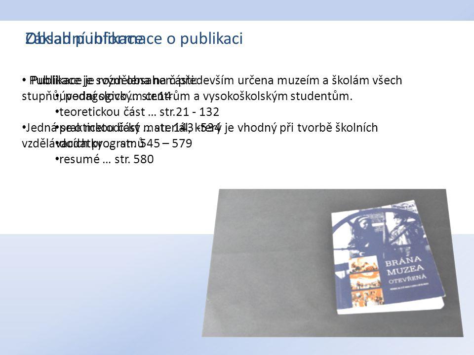 """Postavení muzeí v místních a regionální kultuře – Zdeněk Jírový """"Muzeem lze označovat v podstatě poměrně nesourodé a v mnoha ohledech nesrovnatelné subjekty. (str.132) """"Přínosem bylo, že vznikala některá další specializovaná muzea, skanzeny."""