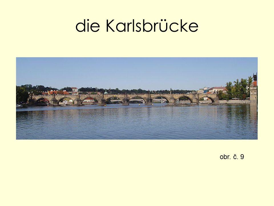 die Karlsbrücke obr. č. 9