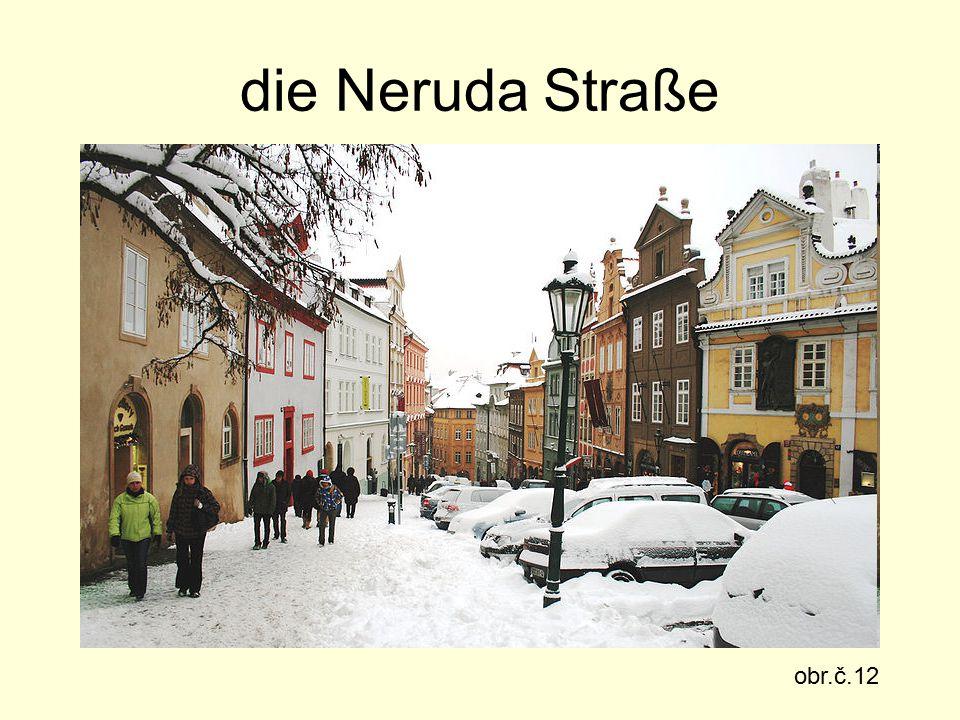 die Neruda Straße obr.č.12