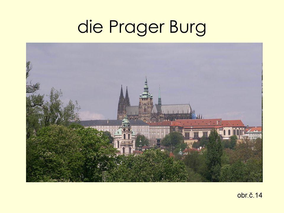 die Prager Burg obr.č.14