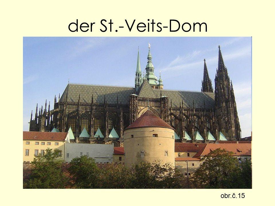 der St.-Veits-Dom obr.č.15