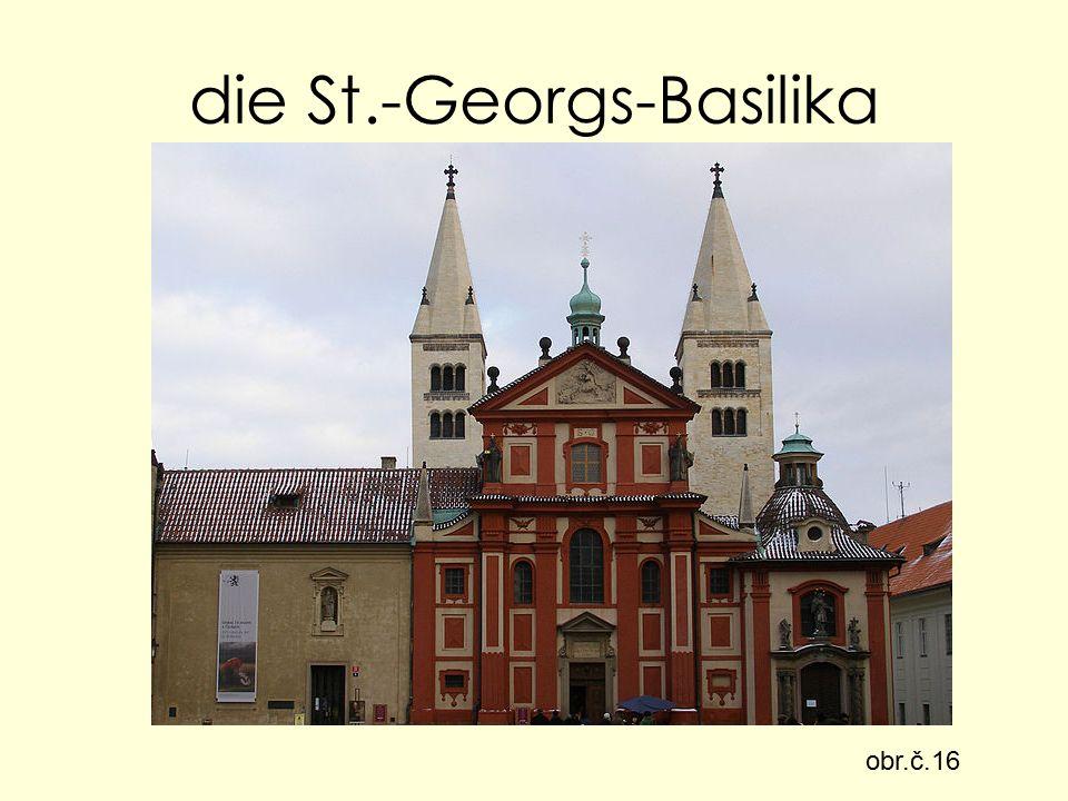 die St.-Georgs-Basilika obr.č.16