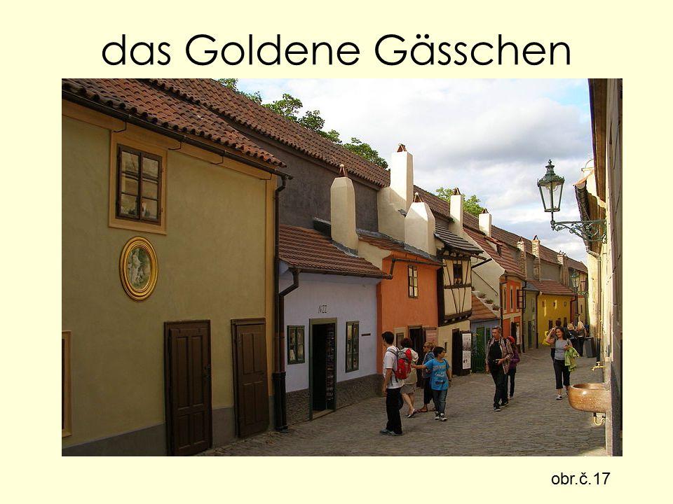 das Goldene Gässchen obr.č.17