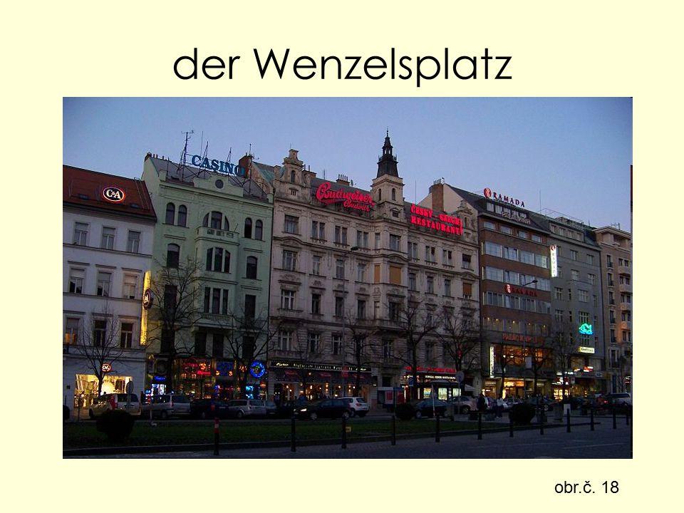 der Wenzelsplatz obr.č. 18