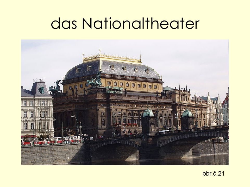 das Nationaltheater obr.č.21