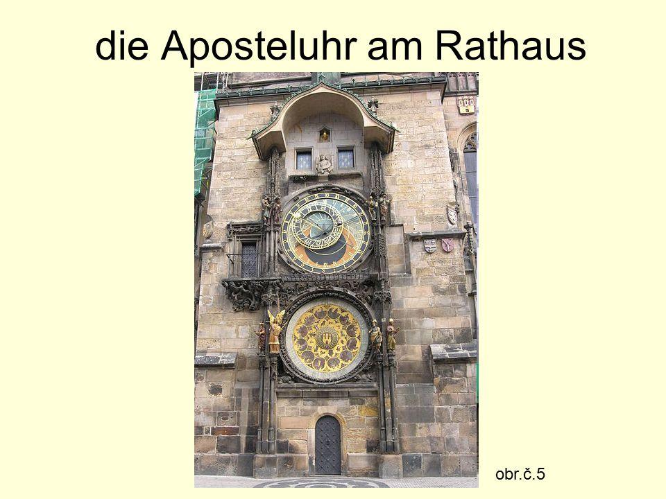die Aposteluhr am Rathaus obr.č.5