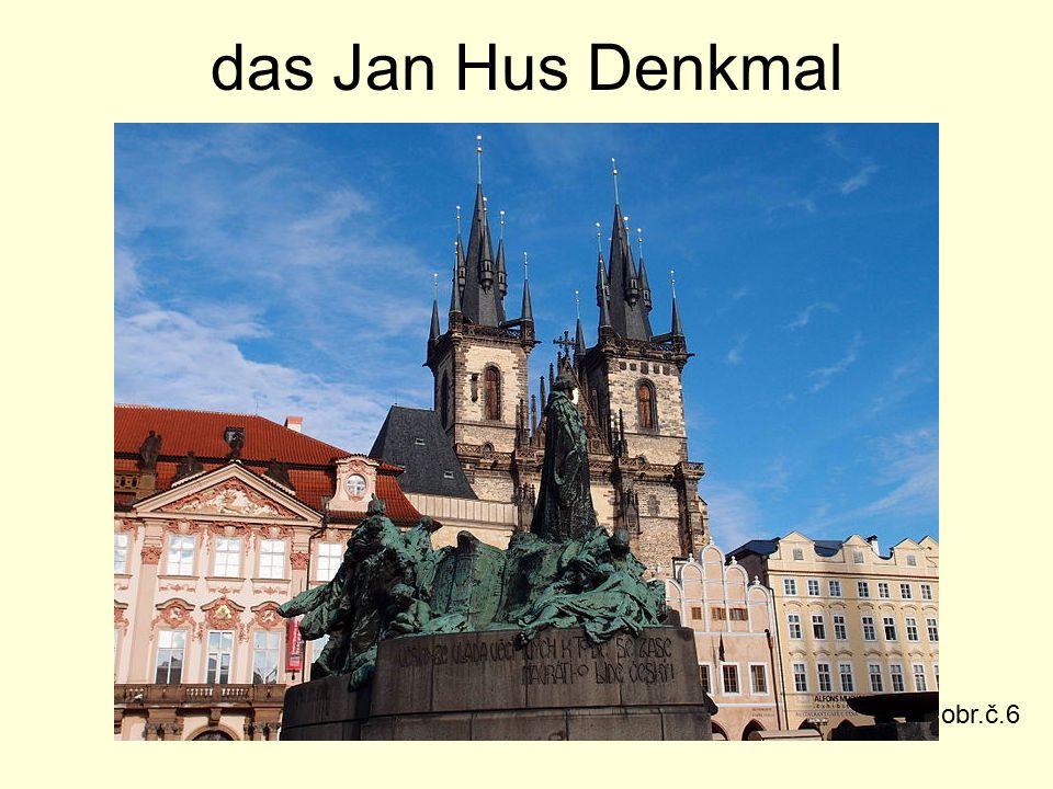 das Jan Hus Denkmal obr.č.6