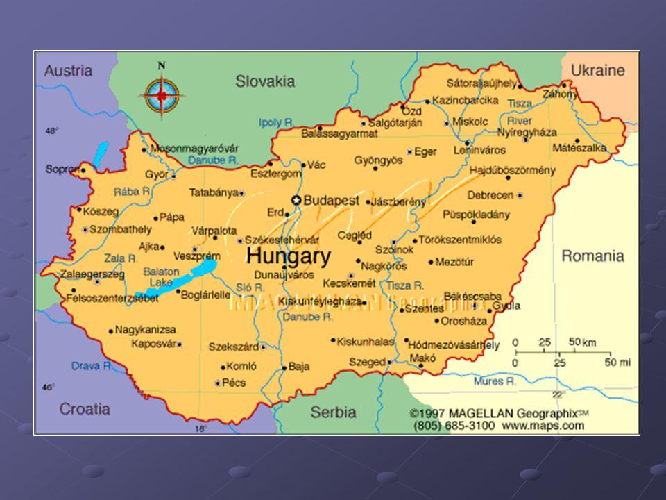Přírodní podmínky Většinu území pokrývá step – pusta (černozemě) Nížinatý reliéf – Velká Uherská nížina (Alföld), Malá Uherská nížina Pohoří zabírají malou část území – Bakoňský les, Matra ( Kékes 1015 m)