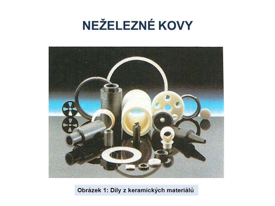 NEŽELEZNÉ KOVY Obrázek 1: Díly z keramických materiálů