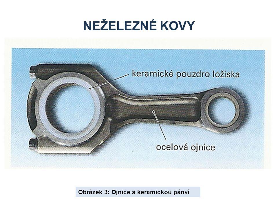 NEŽELEZNÉ KOVY Obrázek 4: Výroba keramických dílů