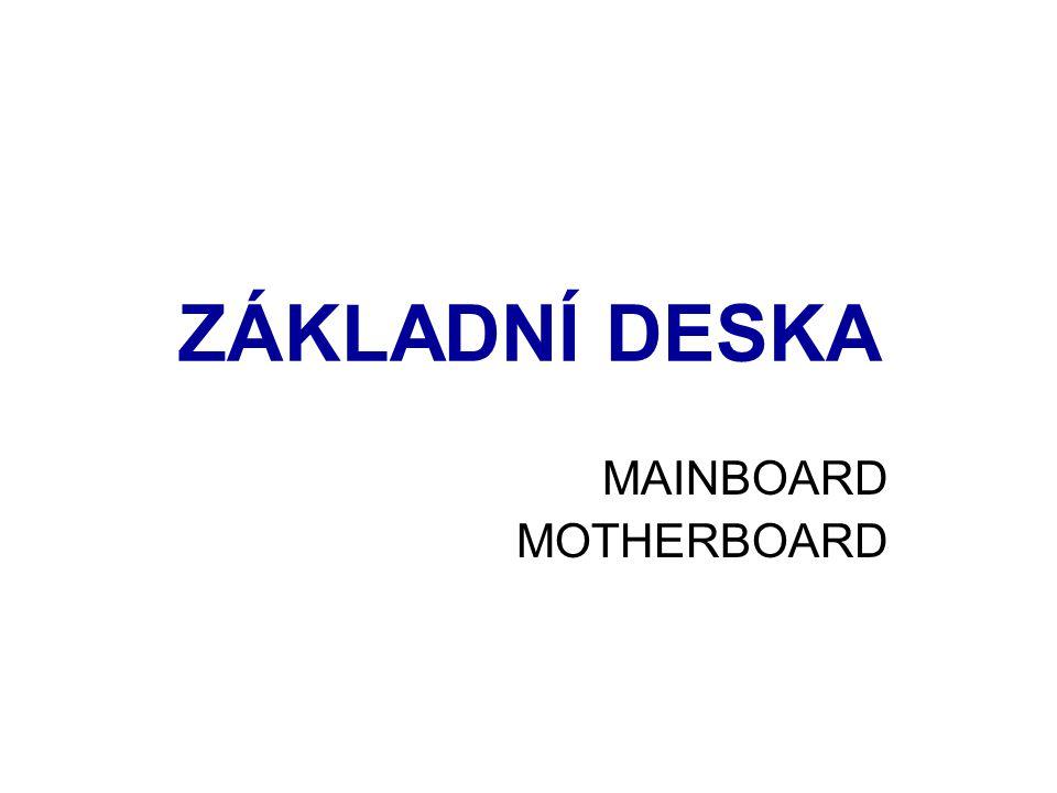 ZÁKLADNÍ DESKA MAINBOARD MOTHERBOARD
