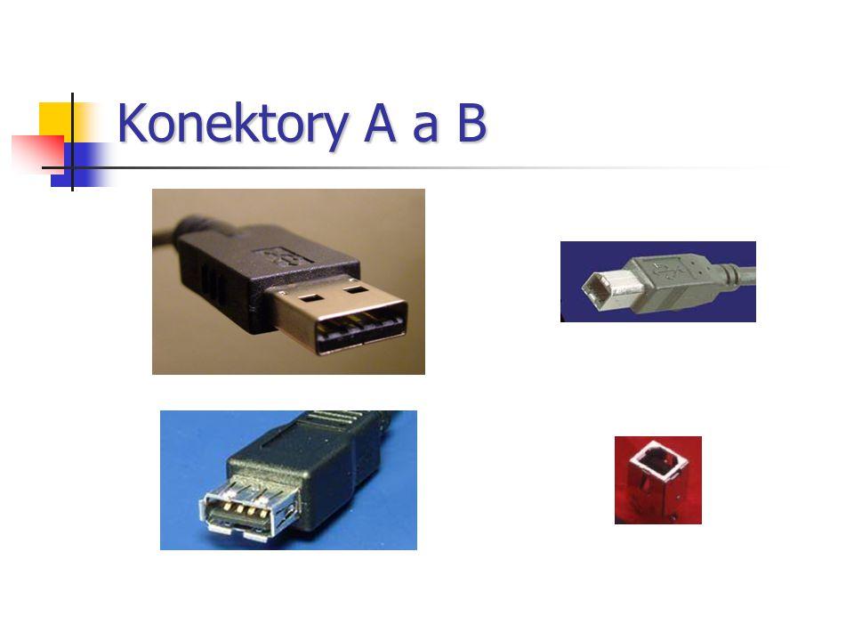 Konektory A a B