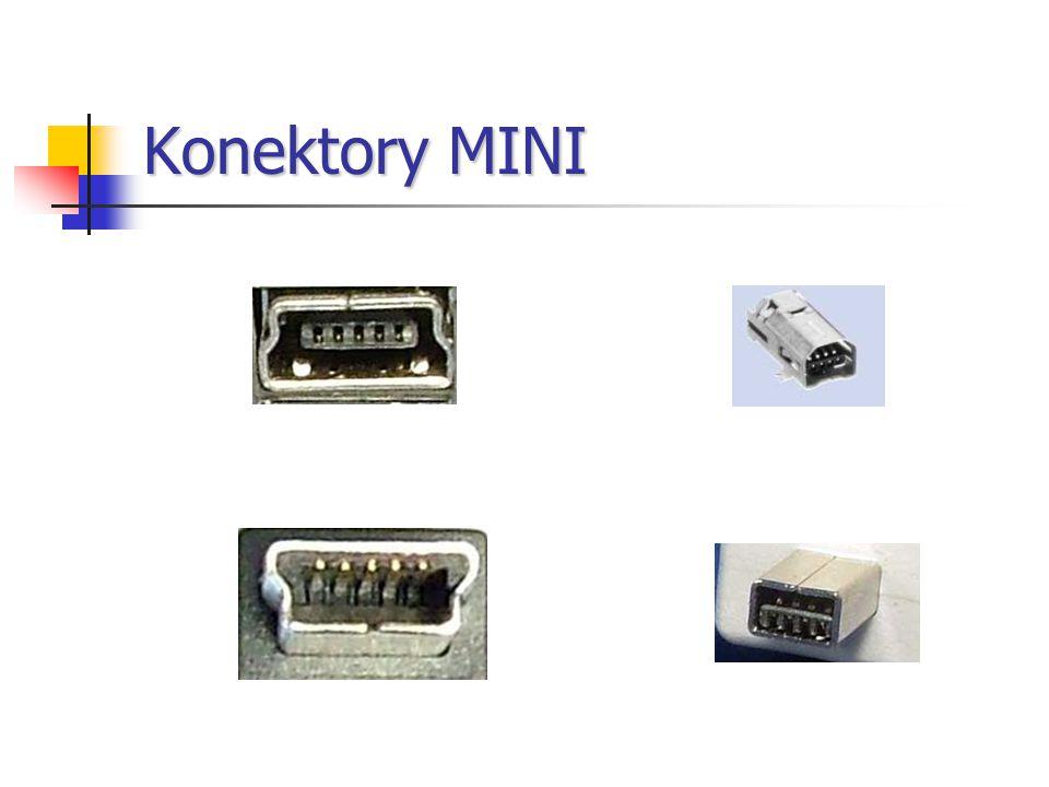 Konektory MINI