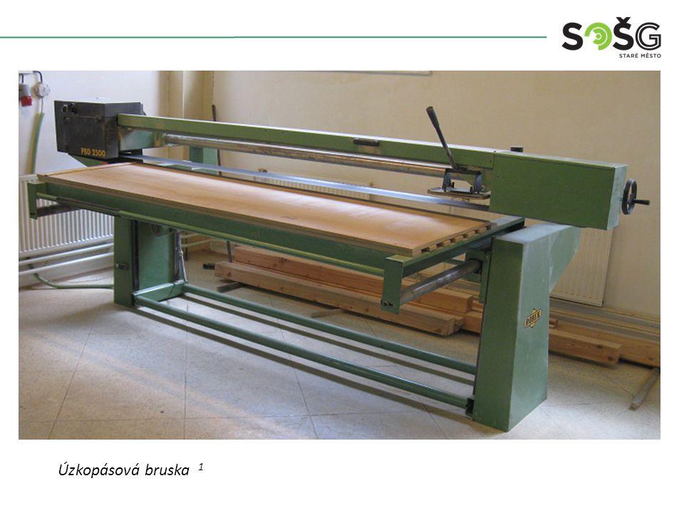POUŽITÍ : Stroj je určen k broušení ploch a po úpravách i boků dílců.