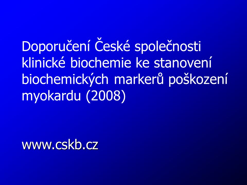53 CRP Protein akutní fáze zánětuProtein akutní fáze zánětu ( ( Cyklický pentamér Mr=118 kDa) Název: schopnost precipitovat C-polysacharid pneumokokůNázev: schopnost precipitovat C-polysacharid pneumokoků Syntéza: v játrech vyvolaná zánětlivými cytokiny, zejména IL-6Syntéza: v játrech vyvolaná zánětlivými cytokiny, zejména IL-6 Vzrůst: 6-10 h po začátku zánětu, vrchol za 1-3 dny, zvýšení (až 500x) přetrvává 1týden i víceVzrůst: 6-10 h po začátku zánětu, vrchol za 1-3 dny, zvýšení (až 500x) přetrvává 1týden i více U pacientů s AKS má prognostický významU pacientů s AKS má prognostický význam