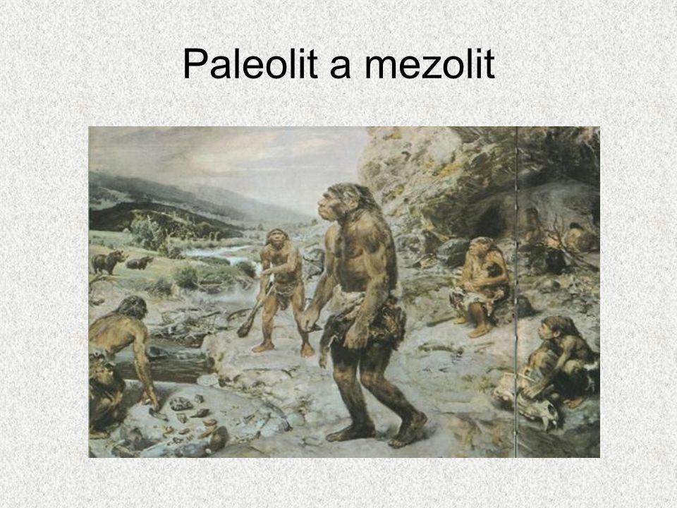 Paleolit a mezolit