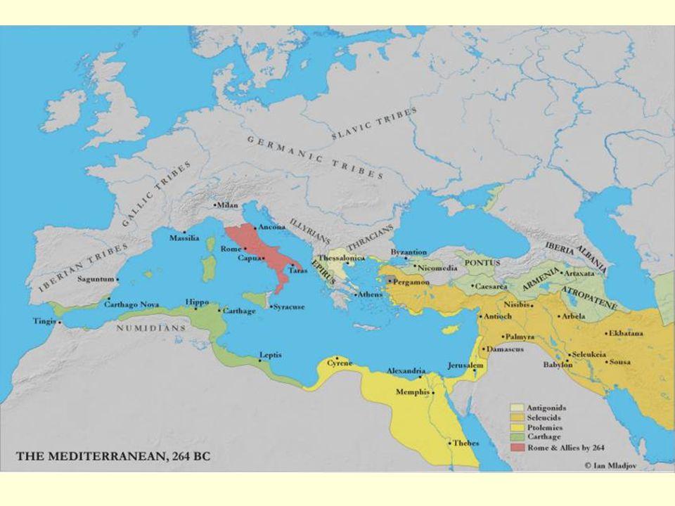 Hospodářství: půda - zdroj politické vážnosti řemeslo a obchod dlouho v neúctě směna – do 3. stol. př.n.l. naturální ráz (měna=as) problém – dlužní ot