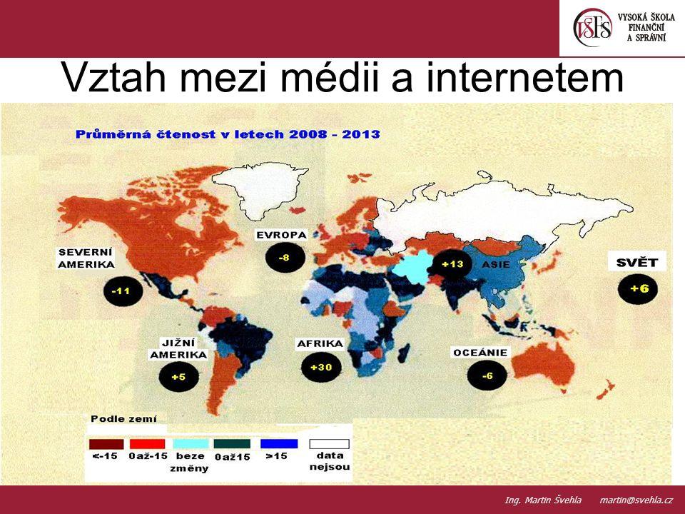 Vztah mezi médii a internetem 10. PaedDr.Emil Hanousek,CSc., 14002@mail.vsfs.cz :: Ing. Martin Švehla martin@svehla.cz