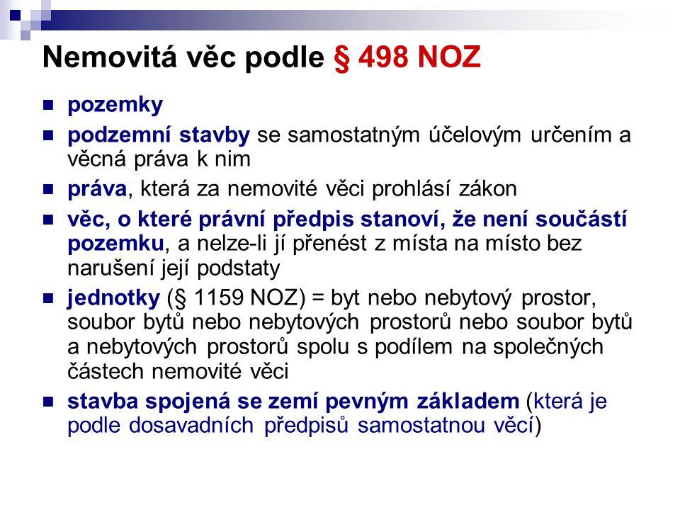 Vlastnictví jednotek podle zákona č.72/1994 Sb.
