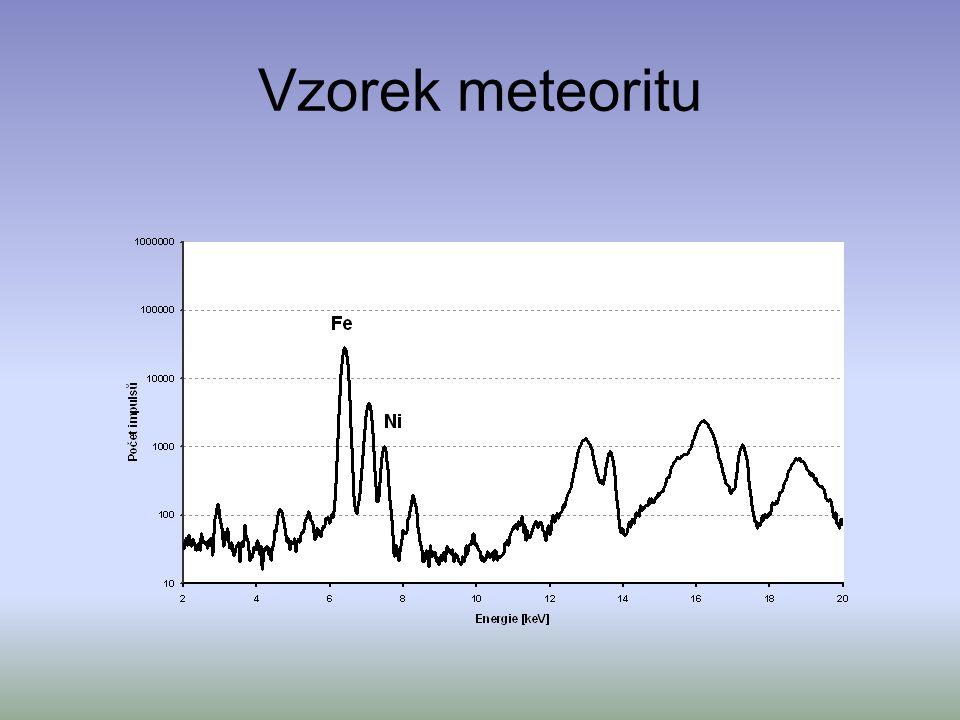 Vzorek meteoritu