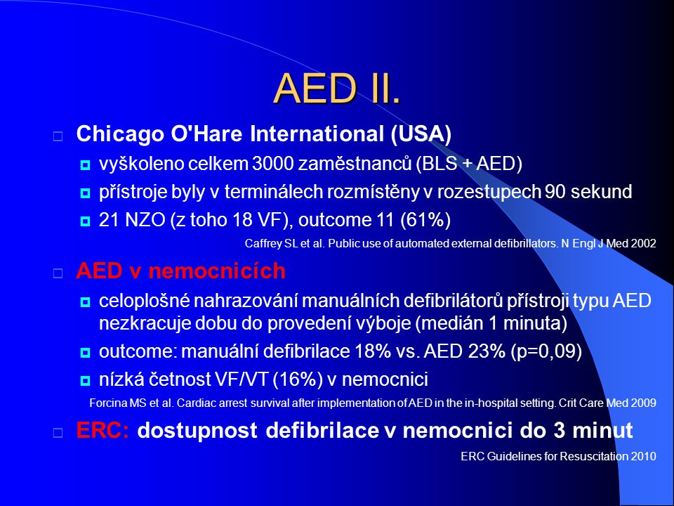 AED II.