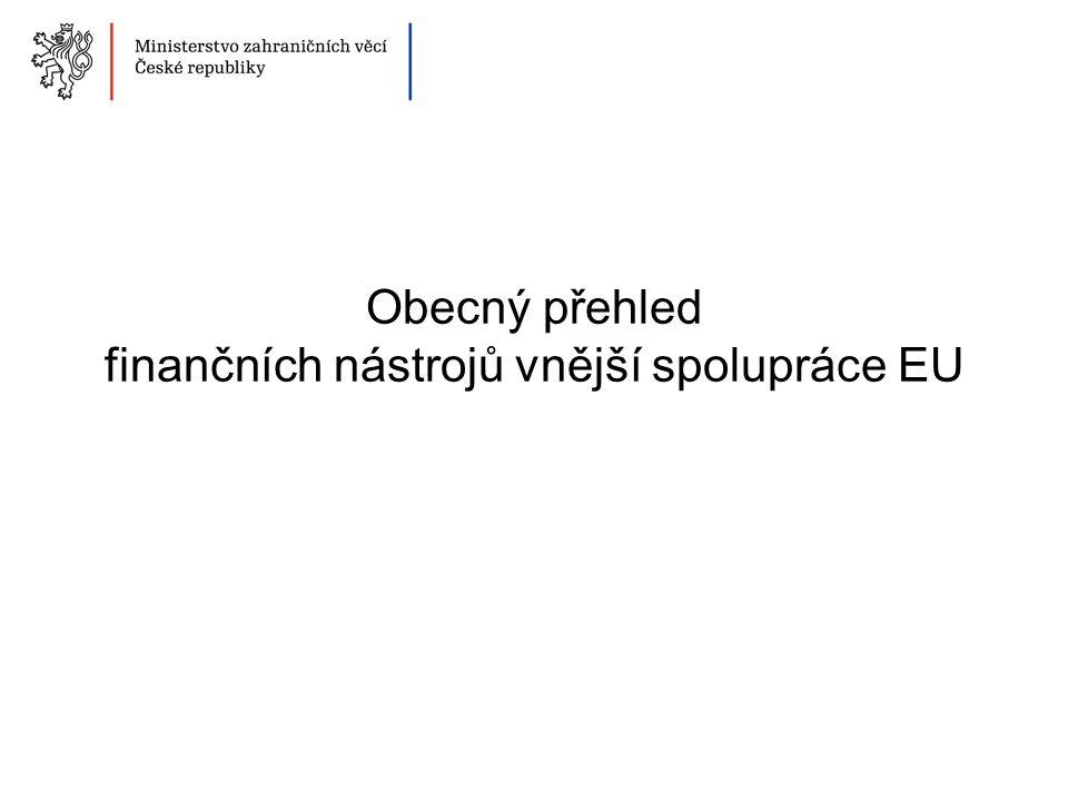 Proces programování finančních nástrojů EU
