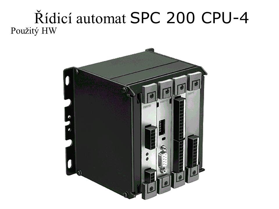 Řídicí automat SPC 200 CPU-4 Použitý HW