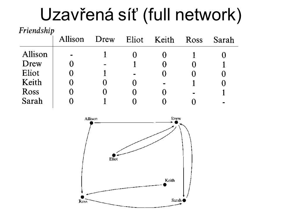 Uzavřená síť (full network)