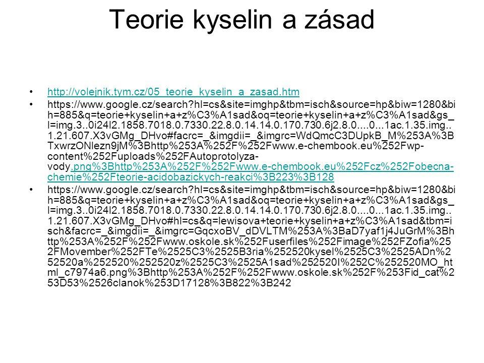 http://volejnik.tym.cz/05_teorie_kyselin_a_zasad.htm https://www.google.cz/search?hl=cs&site=imghp&tbm=isch&source=hp&biw=1280&bi h=885&q=teorie+kysel