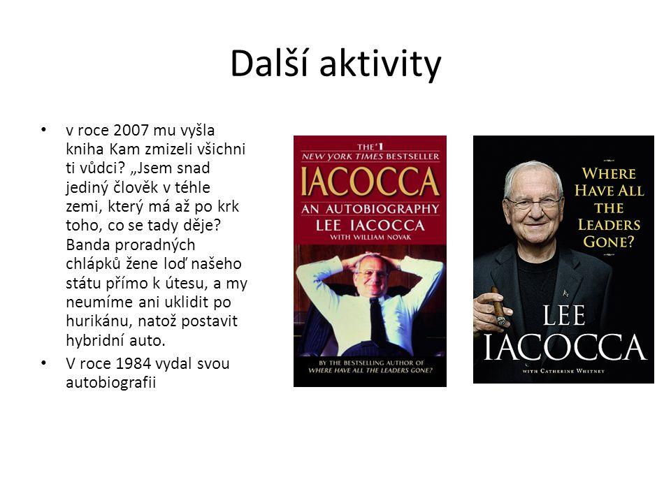 Další aktivity v roce 2007 mu vyšla kniha Kam zmizeli všichni ti vůdci.